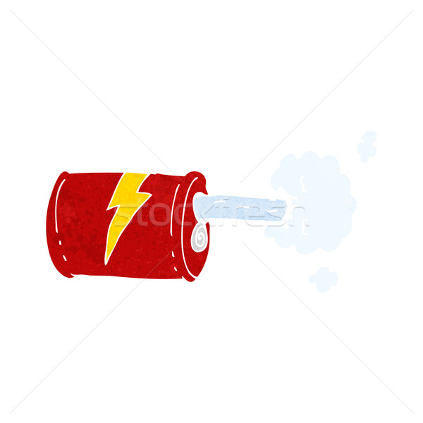 cartoon fizzy drink can Stock photo © lineartestpilot