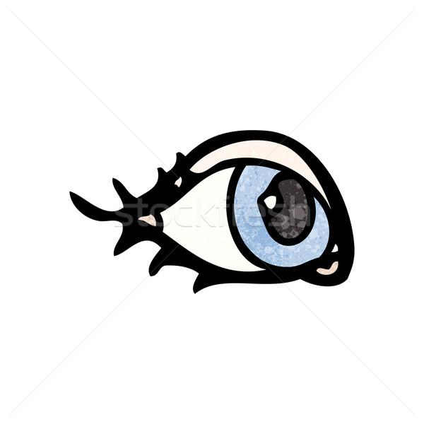 Stock photo: cartoon eyeball