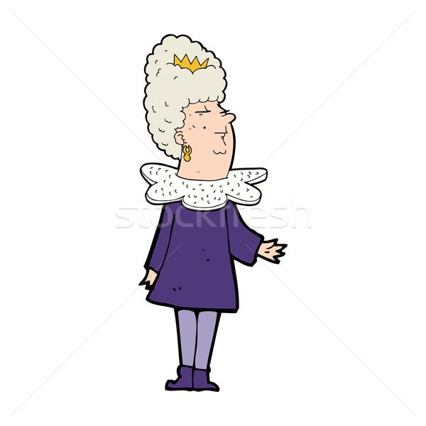 cartoon queen Stock photo © lineartestpilot