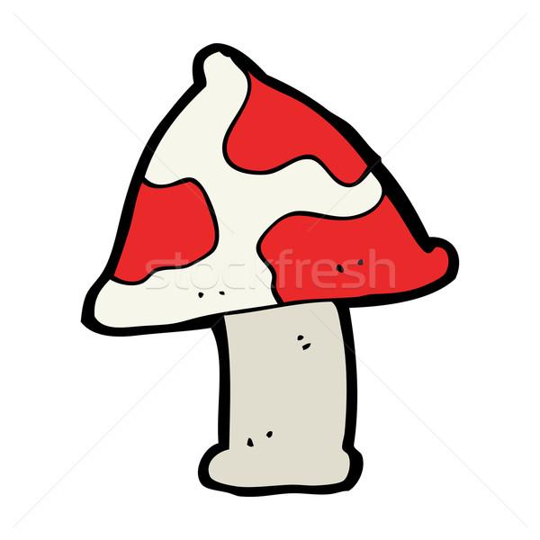 cartoon toadstool Stock photo © lineartestpilot