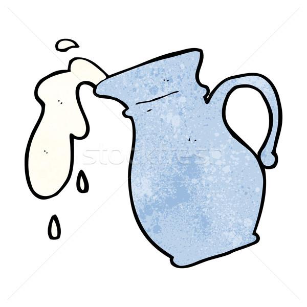 cartoon milk jug Stock photo © lineartestpilot