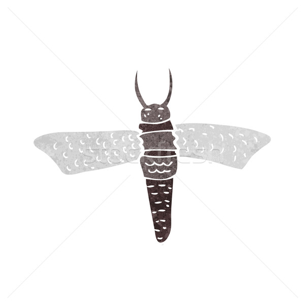 Cartoon bug main design fou clip Photo stock © lineartestpilot