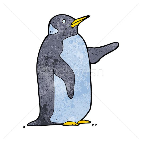 cartoon penguin Stock photo © lineartestpilot