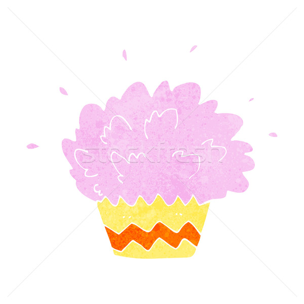 cartoon exploding cupcake Stock photo © lineartestpilot