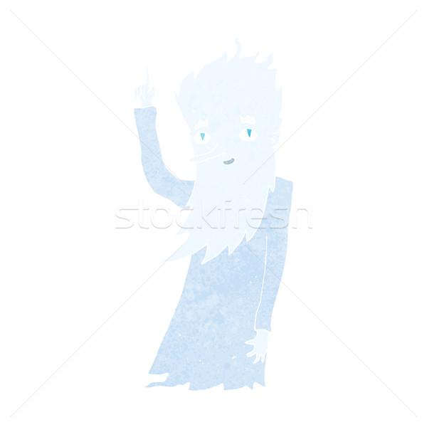 Don karikatür el dizayn kış çılgın Stok fotoğraf © lineartestpilot