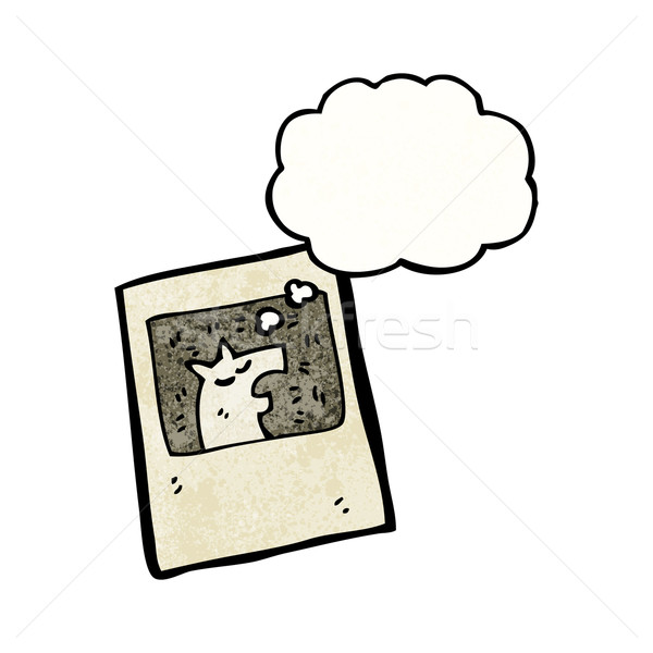 cartoon old photo Stock photo © lineartestpilot