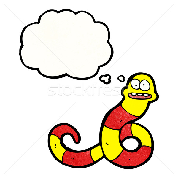 cartoon poisonous snake Stock photo © lineartestpilot
