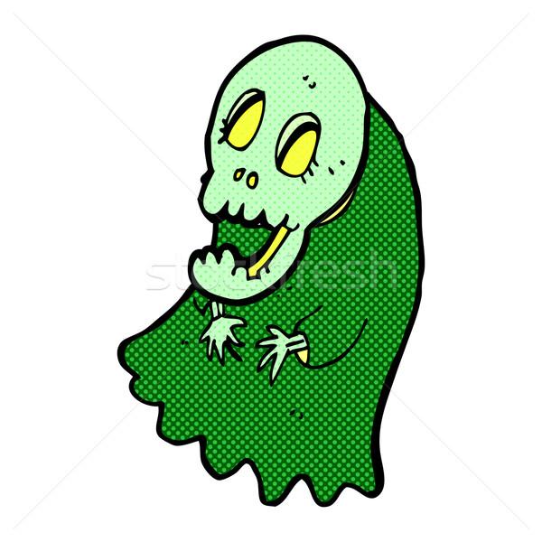 comic cartoon spooky ghoul Stock photo © lineartestpilot