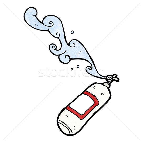 fire extinguisher cartoon Stock photo © lineartestpilot