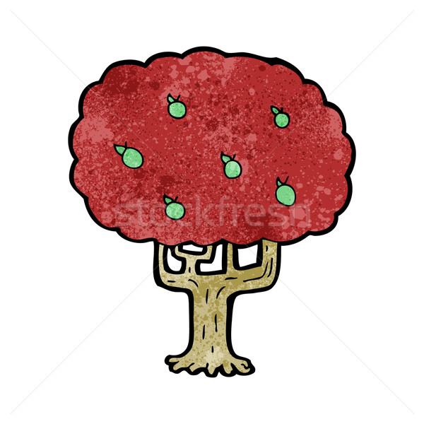 cartoon apple tree Stock photo © lineartestpilot