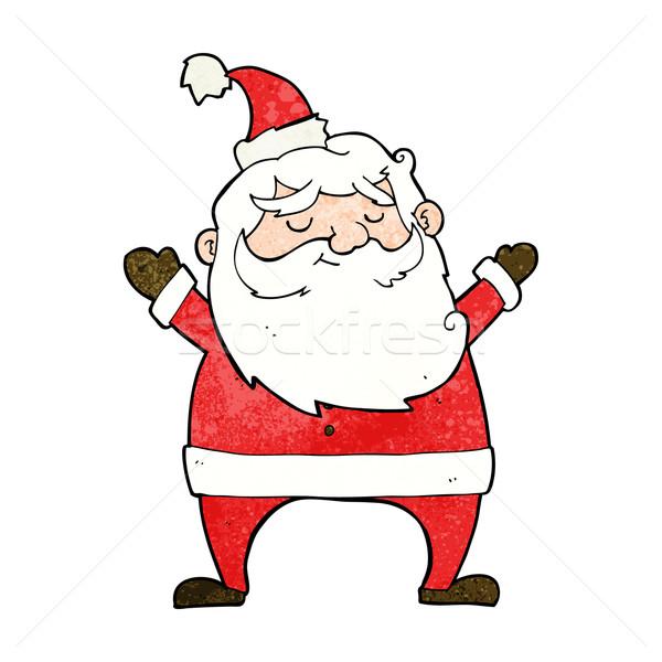 jolly santa cartoon Stock photo © lineartestpilot