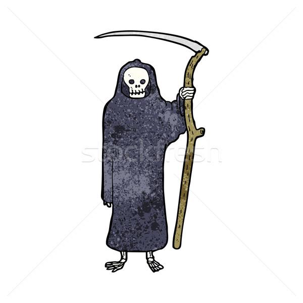 Morte desenho animado mão projeto louco assustador Foto stock © lineartestpilot