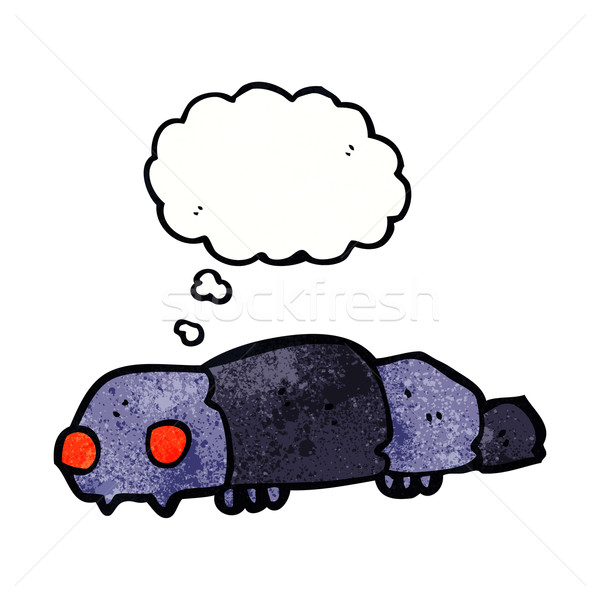 cartoon insect with thought bubble Stock photo © lineartestpilot