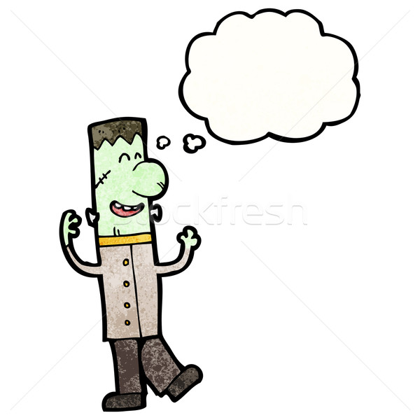 cartoon frankenstein monster Stock photo © lineartestpilot