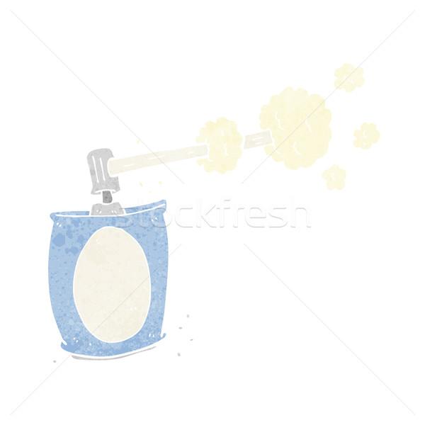 Karikatür aerosol sprey can dizayn sanat Stok fotoğraf © lineartestpilot