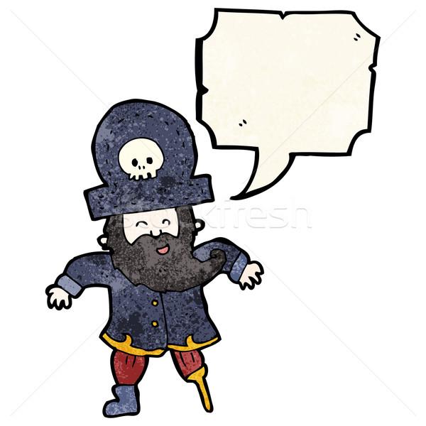 cartoon pirate captain Stock photo © lineartestpilot