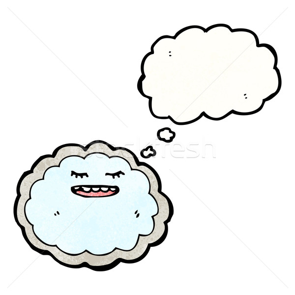 cartoon cloud with silver lining Stock photo © lineartestpilot
