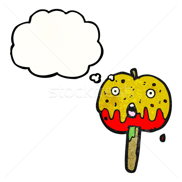 cartoon toffee apple Stock photo © lineartestpilot