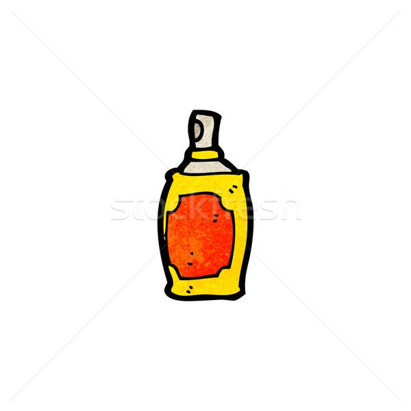 Rajz aeroszol konzerv retro rajz spray Stock fotó © lineartestpilot