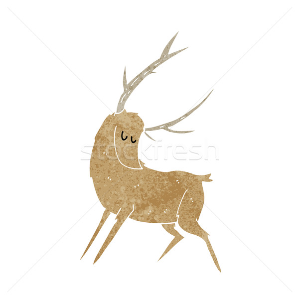 cartoon stag Stock photo © lineartestpilot