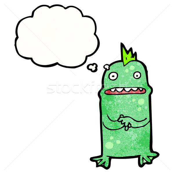 cartoon little, swamp monster Stock photo © lineartestpilot