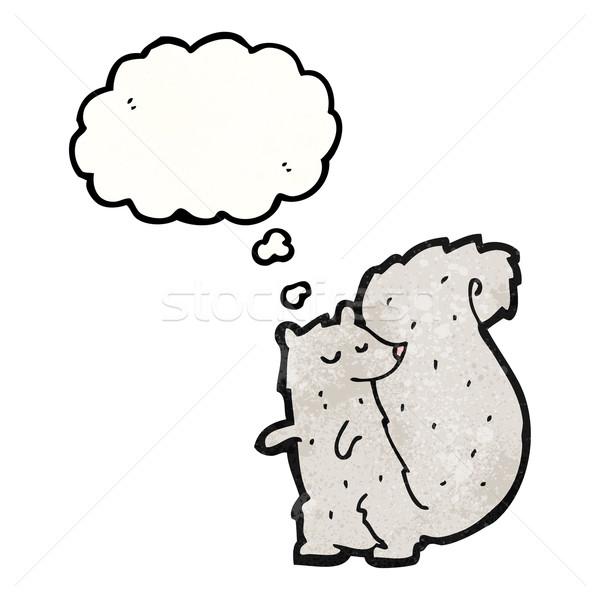 cute cartoon squirrel Stock photo © lineartestpilot
