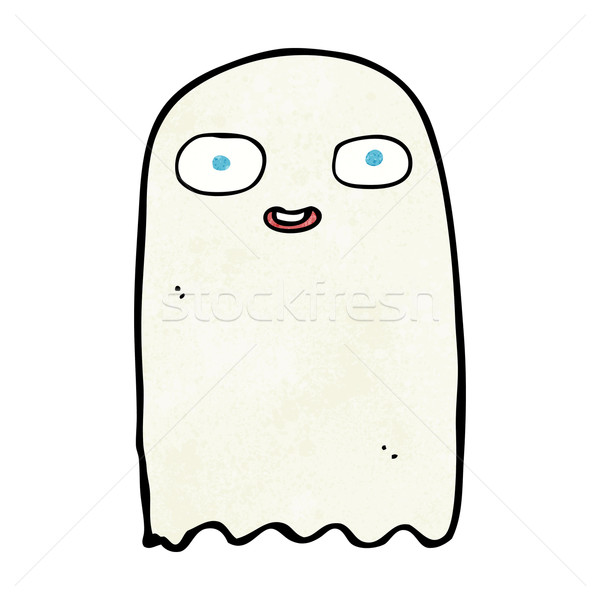 funny cartoon ghost Stock photo © lineartestpilot