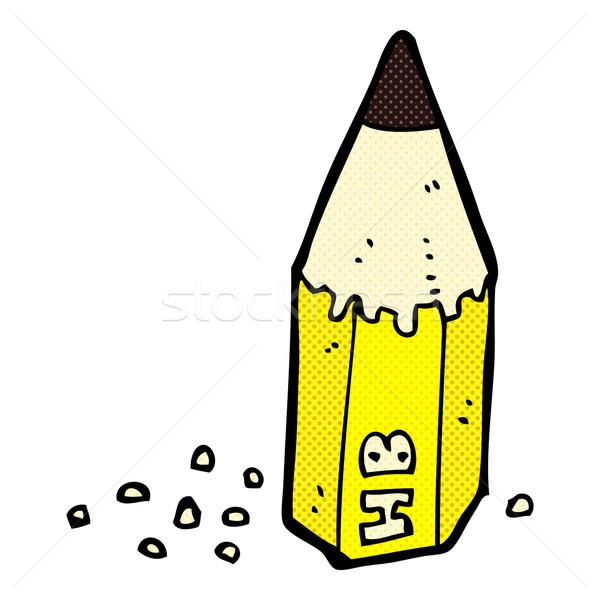 comic cartoon pencil stub Stock photo © lineartestpilot