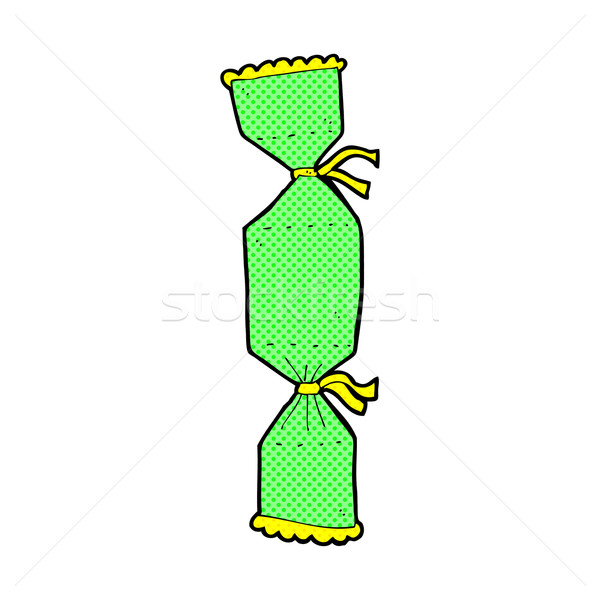 comic cartoon christmas cracker Stock photo © lineartestpilot