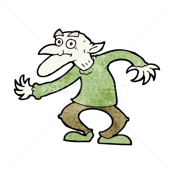 cartoon goblin Stock photo © lineartestpilot