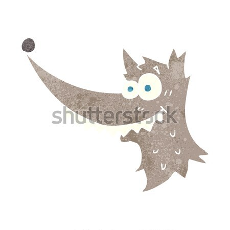 cartoon spooky witches hat with speech bubble Stock photo © lineartestpilot