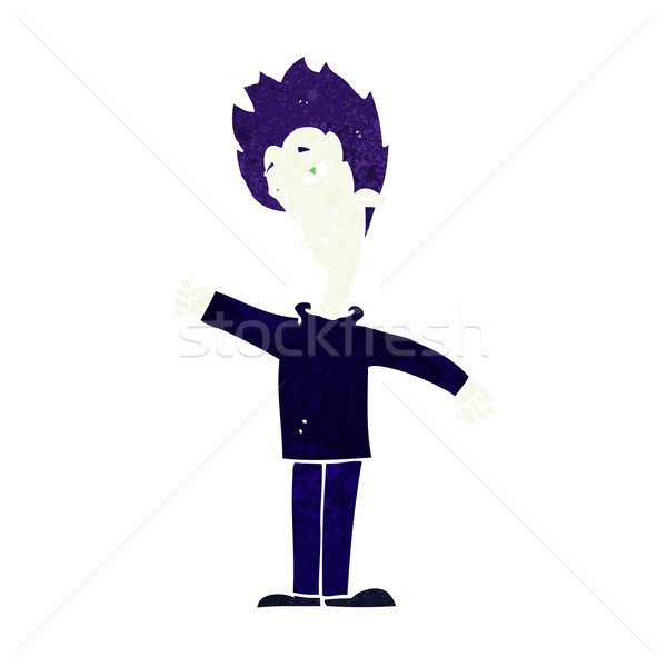 Cartoon вампир человека дизайна искусства ретро Сток-фото © lineartestpilot