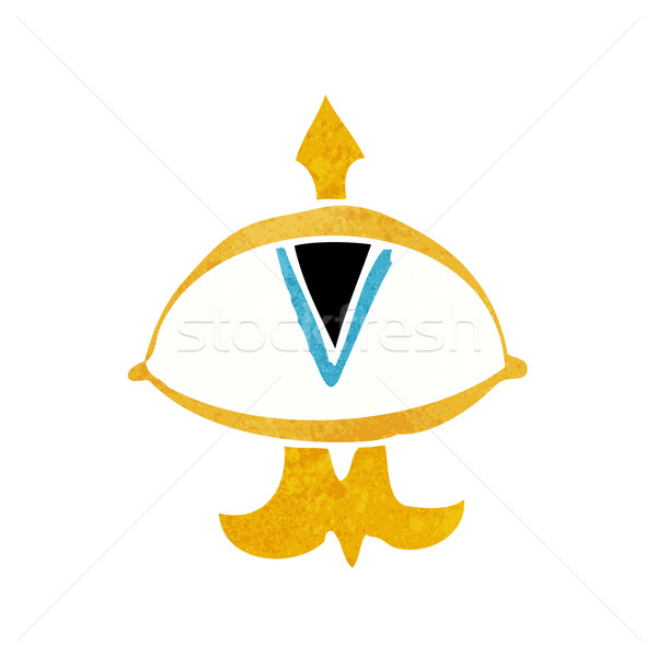 cartoon mystic eye symbol Stock photo © lineartestpilot