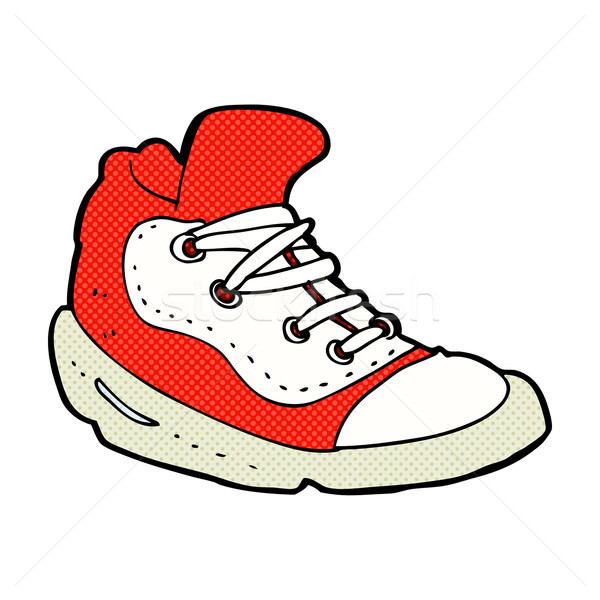 comic cartoon sneaker Stock photo © lineartestpilot