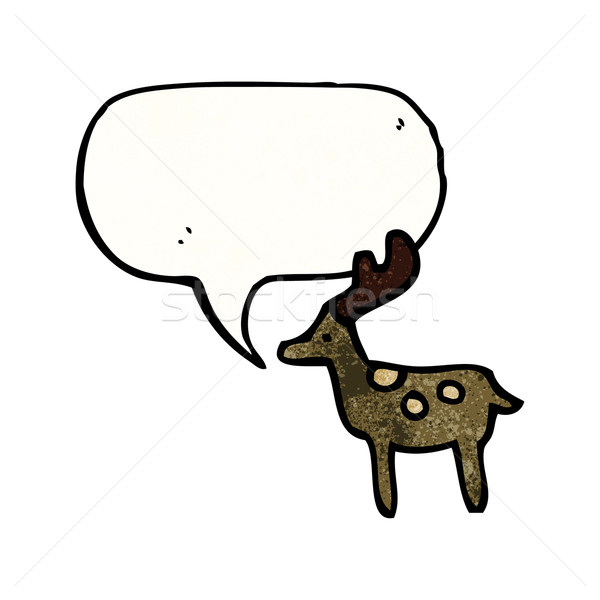 child's drawing of a deer Stock photo © lineartestpilot