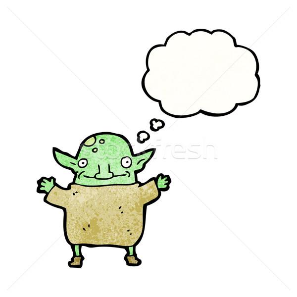 Stock photo: little goblin cartoon