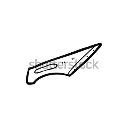 cartoon scalpel blade Stock photo © lineartestpilot