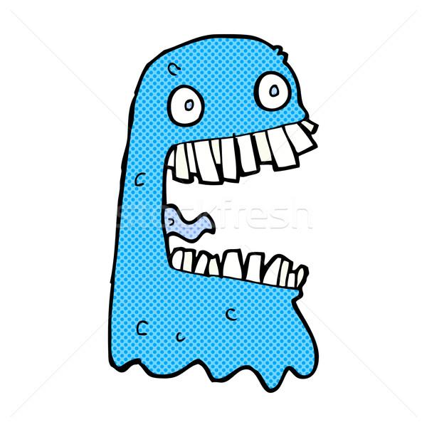 comic cartoon gross ghost Stock photo © lineartestpilot
