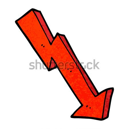 comic cartoon tick symbol Stock photo © lineartestpilot