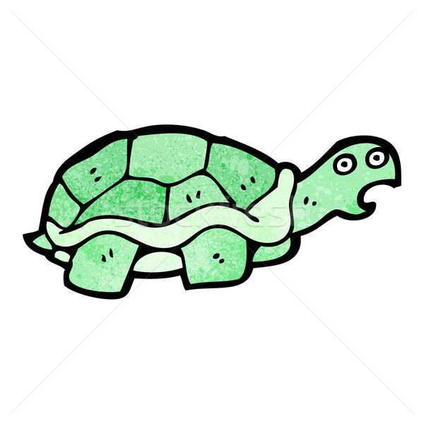 Cartoon черепаха смешные рисунок Cute иллюстрация Сток-фото © lineartestpilot