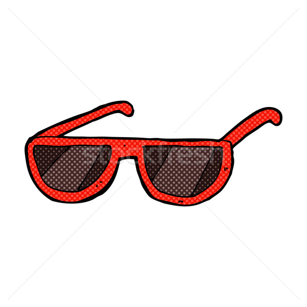 comic cartoon spectacles Stock photo © lineartestpilot