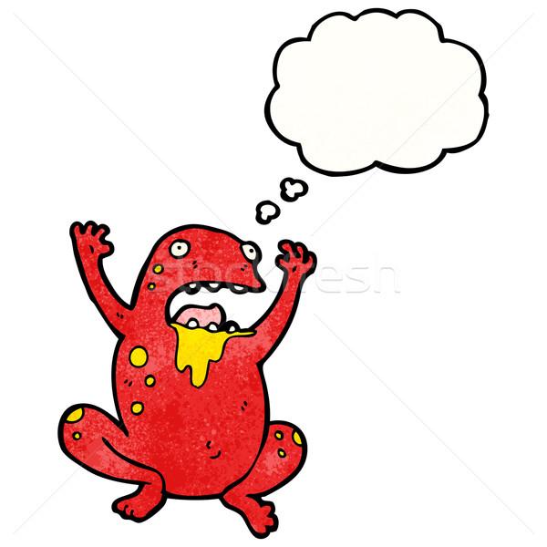 gross poison frog cartoon Stock photo © lineartestpilot
