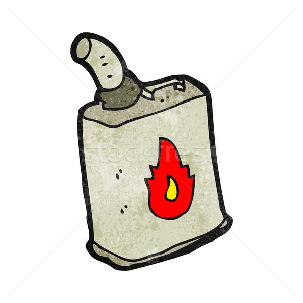 cartoon gas can Stock photo © lineartestpilot