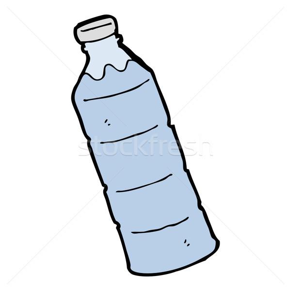 Zdjęcia stock: Cartoon · manierka · wody · projektu · sztuki · butelki