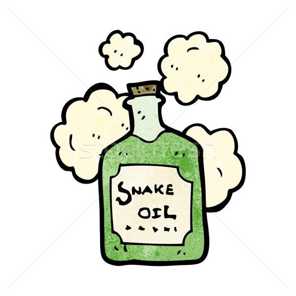 cartoon snake oil Stock photo © lineartestpilot