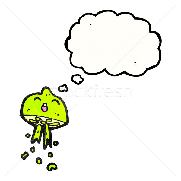 cartoon lime squirting Stock photo © lineartestpilot