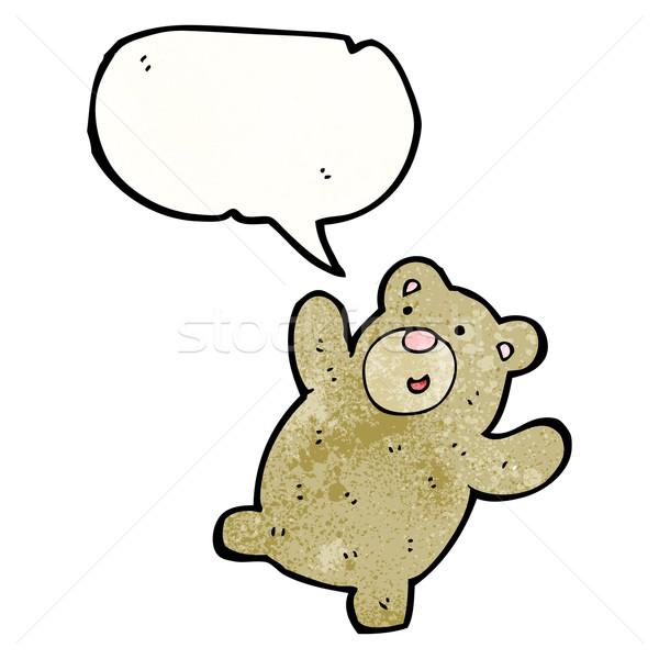 Сток-фото: Cartoon · мишка · искусства · ретро · рисунок · Cute