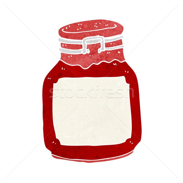 cartoon jam preserve Stock photo © lineartestpilot