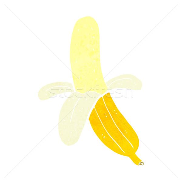 Cartoon pelé banane main design fou Photo stock © lineartestpilot