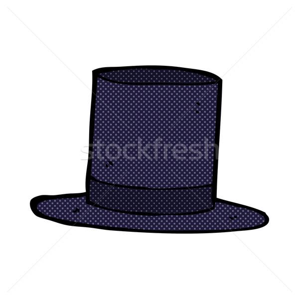 comic cartoon top hat Stock photo © lineartestpilot